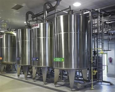 Automatic CIP units for washing and sanitizing  any filling plant